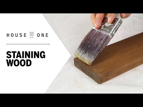 Guide to the Best Way to Stain Wood