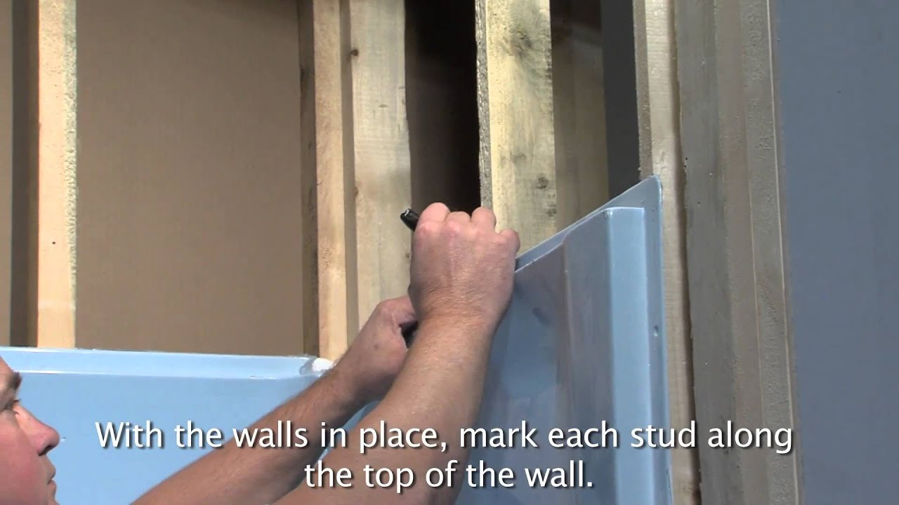 Superb Lyons Victory Tub U0026 Wall Installation   YouTube