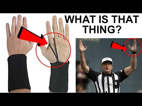 What Is The String On A NFL Refs Hand? (and Much More About Referee Equipment)