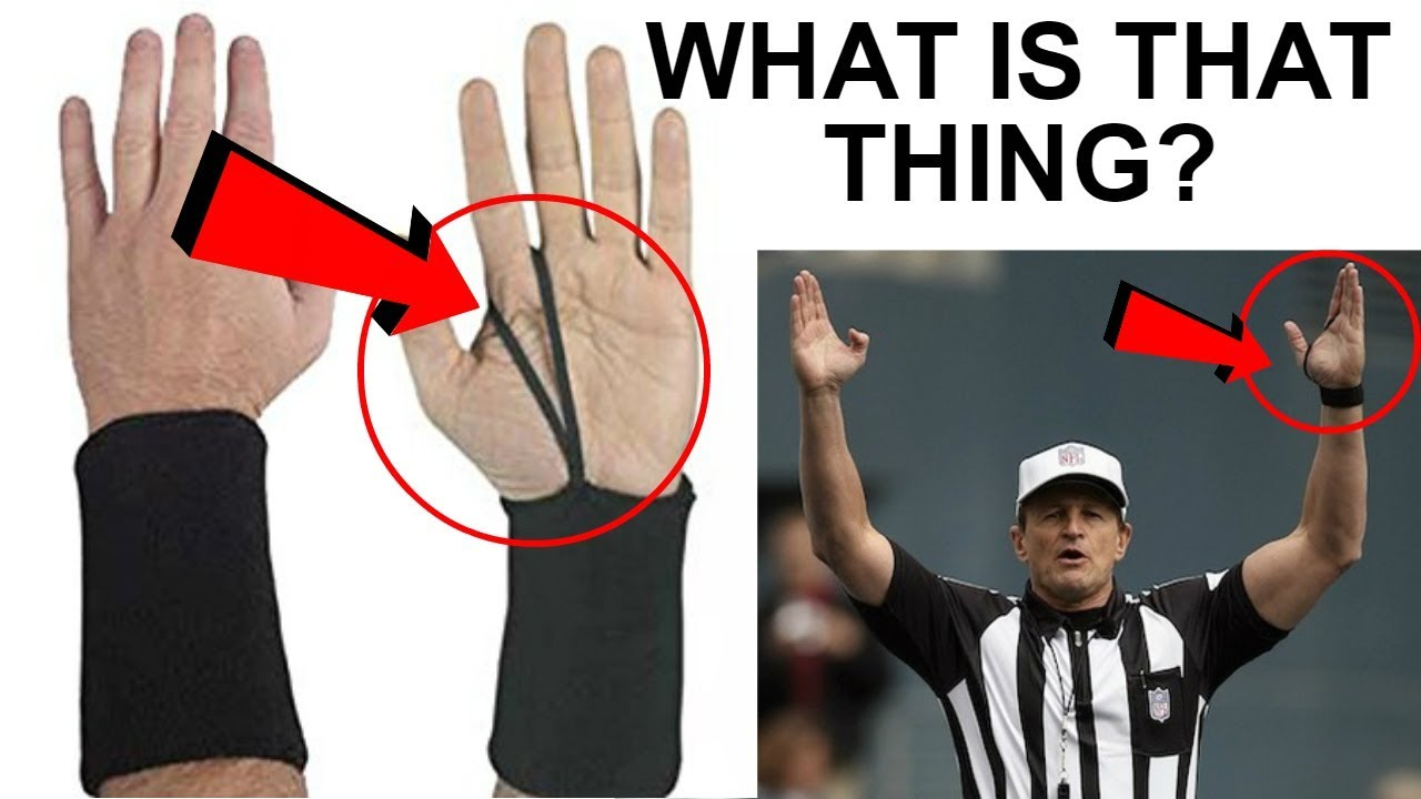 What Is The String On A Nfl Refs Hand And Much More About Referee