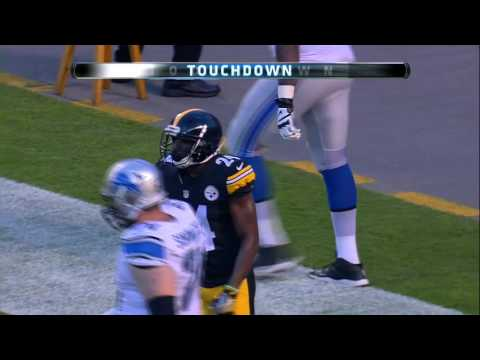 Orlovsky Avoids Sack, but Throws Pick 6 to Doran Grant! | Lions vs. Steelers (Preseason) | NFL