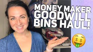MONEY MAKER HAUL! GOODWILL BINS HAUL TO RESELL ON EBAY & POSHMARK - WHAT I'M LISTING!
