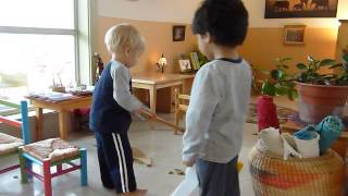 Montessori 20 month old Care of the Environment