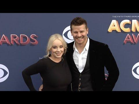 Jaime Bergman, Lauren Alaina at 53rd Academy of Country Music Awards Red carpet