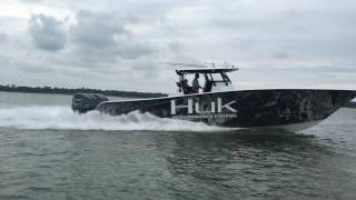 Freeman 42LR Powered by Quad Yamaha F-350