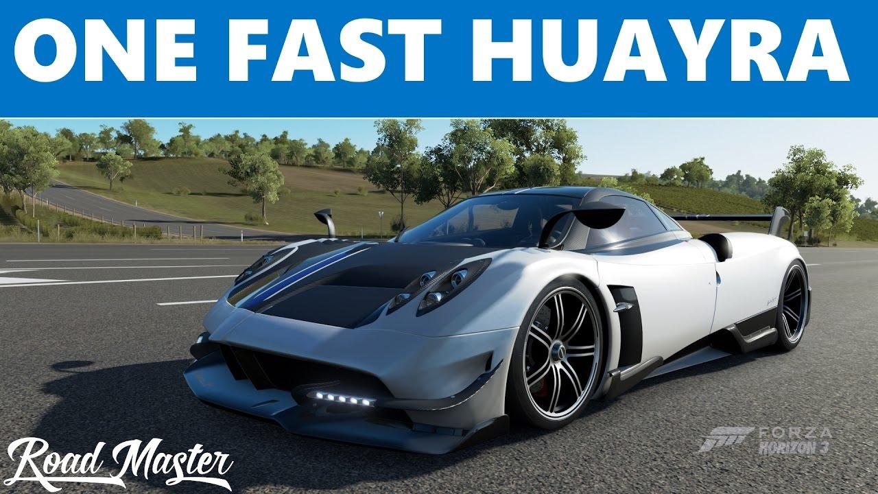 Forza Horizon 3 - 2016 Pagani Huayra BC Top Speed Build! - YouTube