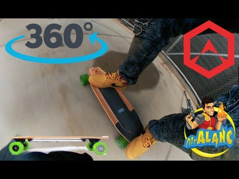 Acton Blink S Electric Skateboard 360 Video Turn On 1440 HD IndieGogo Backer $85 Promo Code