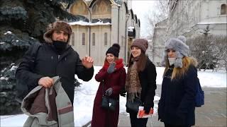 Смотреть видео A Day in Moscow, what can U see? / 1 ДЕНЬ В МОСКВЕ — что посмотреть и куда сходить? онлайн