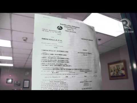 Warrant of arrest for Senator Bong Revilla
