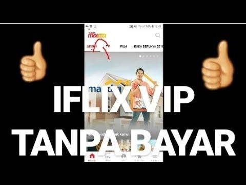 MENGUBAH IFLIX BIASA MENJADI IFLIX VIP,TANPA BAYAR