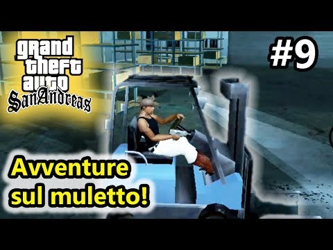 GTA San Andreas - Avventure sul muletto! - Android - (Salvo Pimpo's)