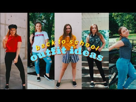 First Week Of Back-To-School Outfit Ideas 2018 3