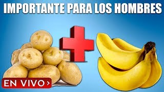 Por qué la papa y el plátano son importantes para los hombres: sé un rey en tres horas con el batido