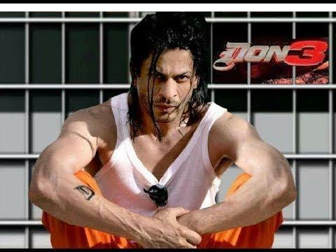 DON 3 Trailer Shahrukh khan' movie upcoming soon