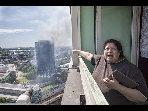 Grenfell Tower fire: At least 12 dead after inferno engulfs flats