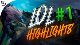 SK - LoL Highlights #1