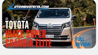 2020 Toyota Hiace Super Grandia Elite - Full Review