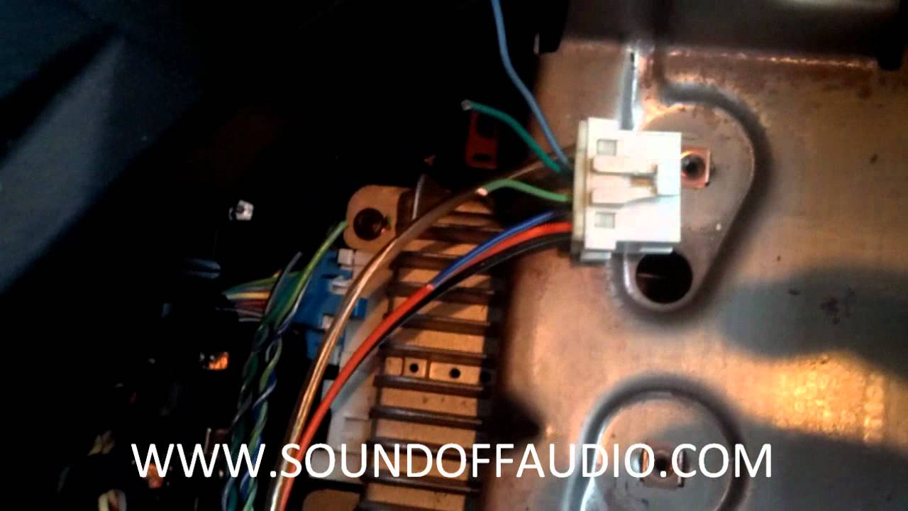 2003 chevy silverado radio wiring harness diagram ready remote 24921b amp bypass - youtube