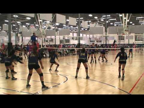 Offshore Volleyball Club 13-1 Girls vs Storm VBC 13-Blizzard Match2