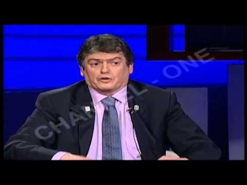 """Bamir Topi në """"Debati në Channel One"""", nga Roland Qafoku"""