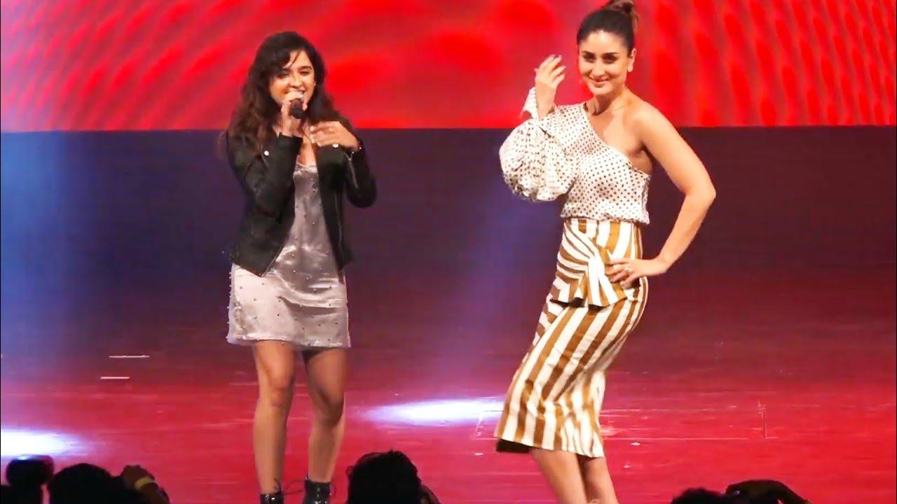 f4bfa8b87811 Kareena Kapoor Dancing on Bole Chudiyan and You Are My Soniya | Shirley  Setia Live Performance