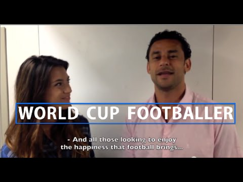 Brazilian Footballer: Fred Guedes Interview - World Cup Exclusive 2014 | Imogen Barclay