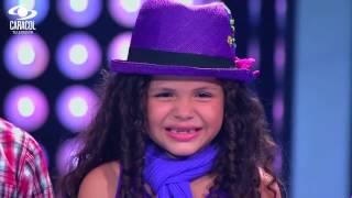 Sara, Santiago y Michael cantaron 'Vamos pa la conga' de Matamoros-LVK Colombia–Batallas–T1