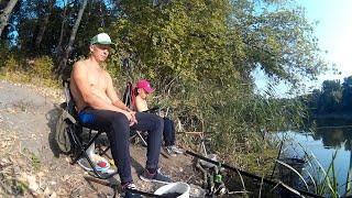 Осенний фидер на реке Северский Донец