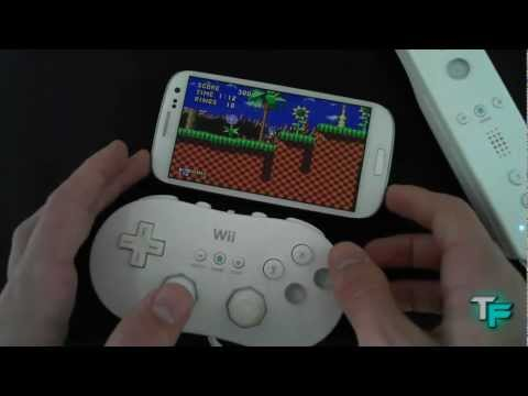 How to Connect a Wii Remote to a Samsung Galaxy S3