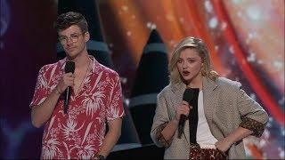 Grant Gustin and Chloe Moretz Present Choice Drama Movie Actor | Teen Choice Awards 2018