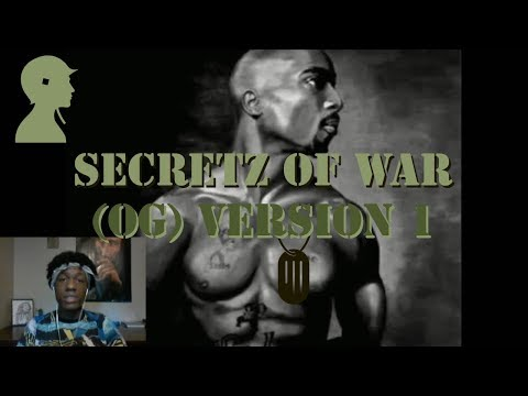 2Pac - Secretz Of War (OG) Version 1 Reaction