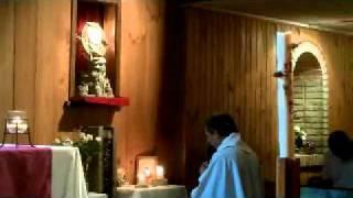 Bendición con el Santísimo 11 de Marzo 2011