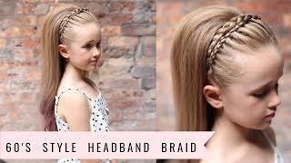Headband Braid (60's Style!!) by SweetHearts Hair