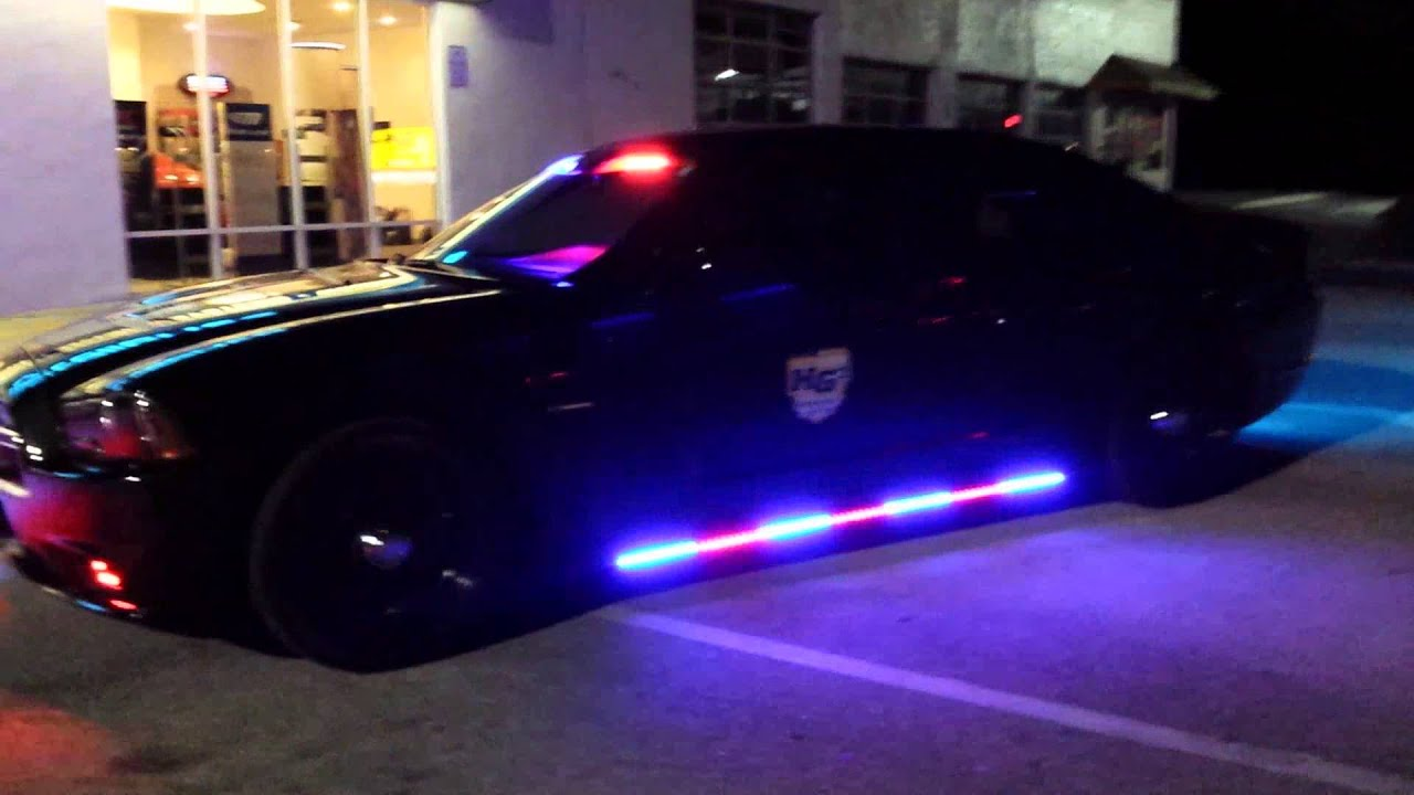 HG2 Emergency Lighting  Dodge Charger with HG2 Custom