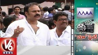 Actor Naga Babu talks at MAA Elections polling at Film Chamber (29-03-2015)