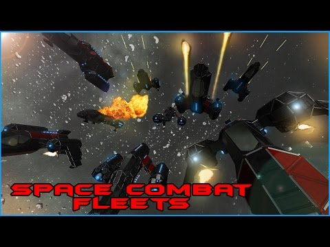 Space Engineers: Assembling a Fleet, Recon Ships, Heavy Fighters, Crew Transport