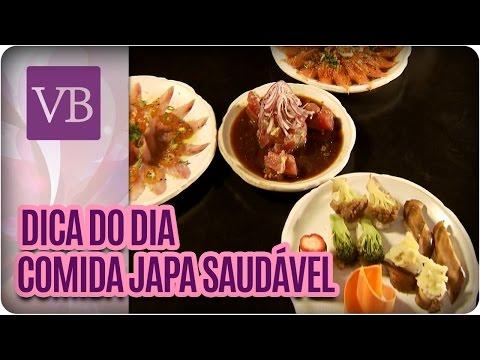 Dica do dia: Receita Japa Saudável - Você Bonita (22/06/16)