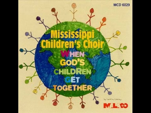 VGSG Presents: Mississippi Children's Choir - When God's Children Get Together VHS