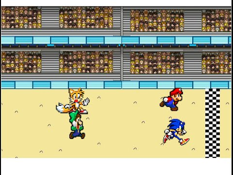 Mario and Sonic have a Race
