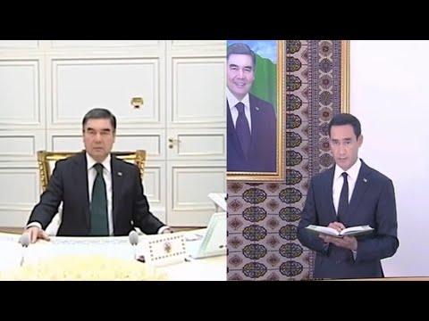Президент Туркменистана назначил своего сына губернатором