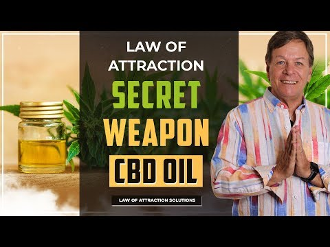 ✅Law of Attraction Secret Weapon - CBD Oil Cannabidiol