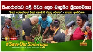 සිංහරාජයට යළි ජීවය දෙන මානුෂීය ක්රියාන්විතය..   Sinharaja   #SaveOurSinharaja Thumbnail