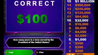Who Wants To Be A Millionaire - Online Game