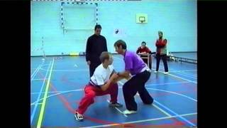 Tai Chi Daniel Grolle - Push Hand Competition Daniel / Luis Molera 1998 in Holland