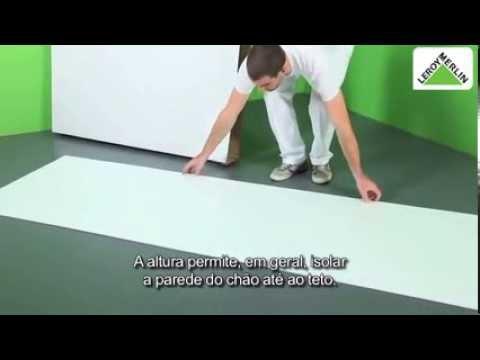 Como aplicar placa de isolamento youtube - Impermeabilizar paredes interiores ...