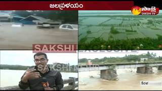 Bridge collapses near Thrissur || Shoranur Railway bridge crossing in palakkad|| Sakshi TV