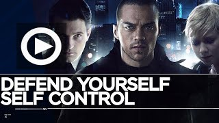Defend Yourself Trophy & Self Control Trophy - Pushed Leo, Let Leo Win / Detroit Become Human