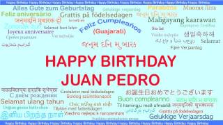 JuanPedro   Languages Idiomas - Happy Birthday