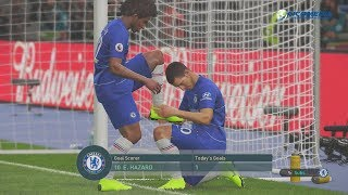 Chelsea vs Leicester EPL PES2019 Gameplay