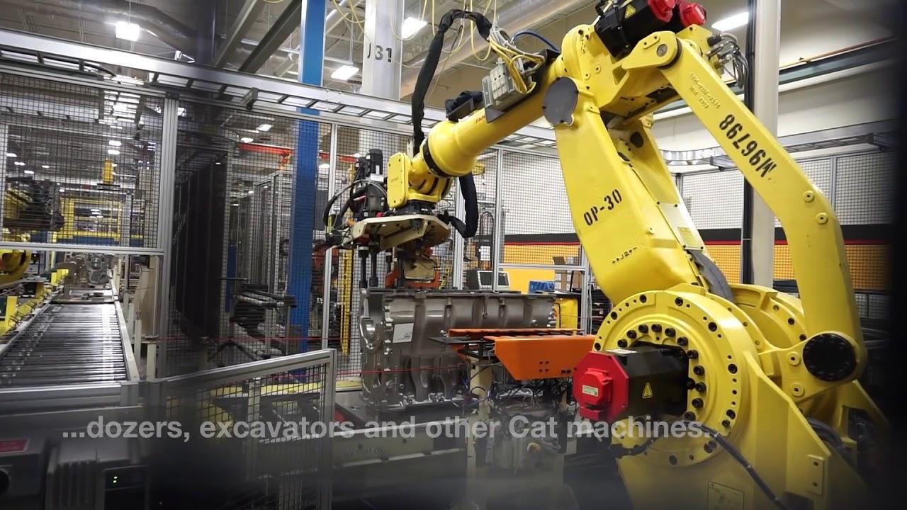 Take a look inside Caterpillar's Seguin engine plant